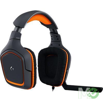 MX63954 Prodigy G231 Stereo Gaming Headset, Black