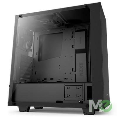MX64129 S340 Elite ATX Mid Tower Case, Matte Black
