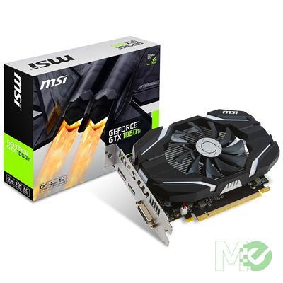 MX64322 GeForce GTX 1050 Ti 4GB OC PCI-E w/ HDMI, DisplayPort, DVI