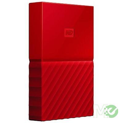 MX64367 1TB My Passport Portable HDD, USB 3.0, Red