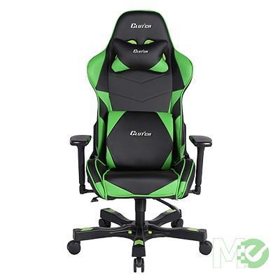 MX64520 Crank Series Charlie Gaming Chair, Black / Green