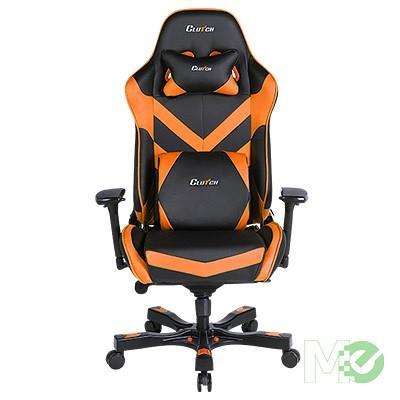 MX64574 Throttle Series Charlie Gaming Chair, Black / Orange