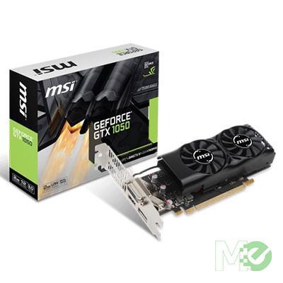 MX65132 GeForce GTX 1050 2GT Low Profile 2GB PCI-E w/ HDMI, DisplayPort, DVI