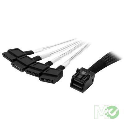 MX65133 Internal Mini-SAS to SATA Cable, SFF-8643 to SATA, 1m