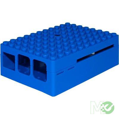MX65158 PiBlox Raspberry Pi Enclosure Case, for Pi 3, Pi2 and B+ Computers, Blue