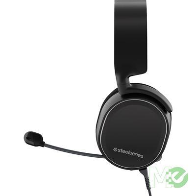MX65243 Arctis 3 Wired Analog Gaming Headset, Black