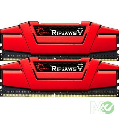 MX65296 Ripjaws V Series 16GB PC4-22400 Dual Channel DDR 4 RAM Kit, Blazing Red (2x 8GB)