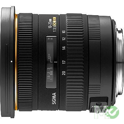 MX65491 10 ~ 20mm f3.5 EX DC HSM AF Zoom Lens for Nikon w/ Lens Hood & Case