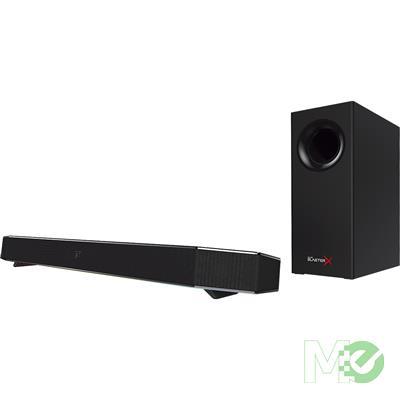 MX65532 Sound BlasterX Katana Gaming Soundbar w/ Wireless Subwoofer & Remote Control
