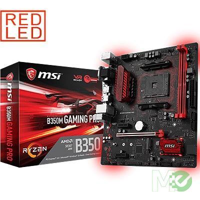 MX65557 B350M GAMING PRO w/ DDR4-2400, 7.1 Audio, M.2, Gigabit LAN, PCI-E x16