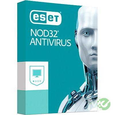 MX65616 NOD32 Antivirus v10.0, 1 User, 1 Year, Download Only