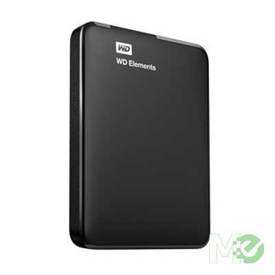 MX65826 2TB Elements Portable Hard Drive, USB 3.0, Black