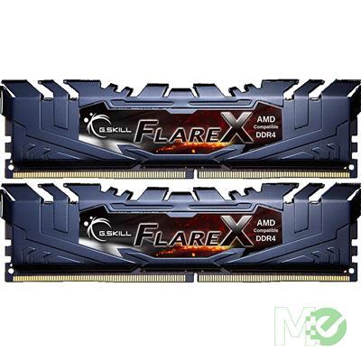 MX65927 FlareX Series 32GB DR4 2400 Dual Channel DDR4 RAM Kit (2 x 16GB) For AMD Ryzen™