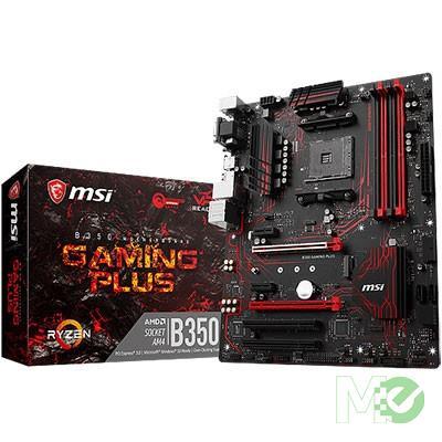 MX66737 B350 GAMING PLUS w/ DDR4-2400, 7.1 Audio, M.2, Gigabit LAN, CrossFire