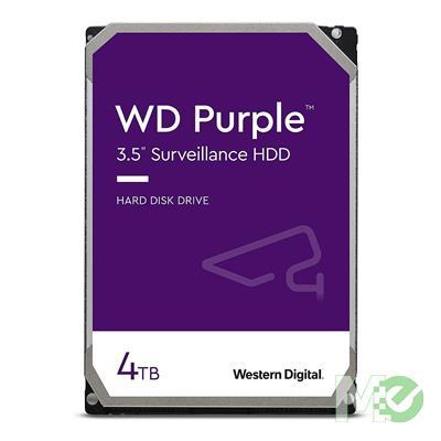 MX66854 Purple 4TB Surveillance Hard Drive, SATA III w/ 64MB Cache
