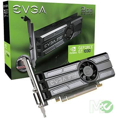 MX66875 GeForce GT 1030 SC 2GB PCI-E Low Profile w/ DVI, HDMI