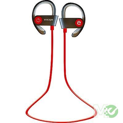 MX67015 BT078 Bluetooth Sport Earbuds, Red