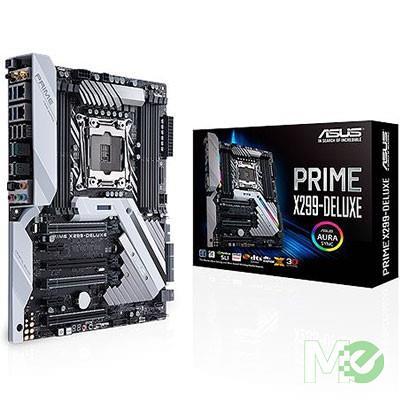 MX67055 PRIME X299-DELUXE w/ DDR4 2666, 7.1 Audio, Dual M.2, Dual GB LAN, Wi-Fi, CrossFireX / SLI