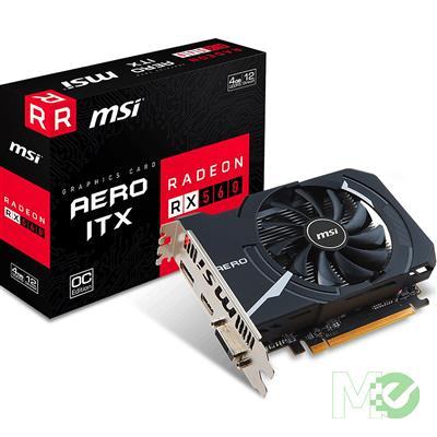 MX67081 Radeon RX 560 AERO ITX 4GB OC PCI-E w/ HDMI, DisplayPort, DVI
