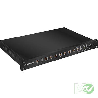 MX67167 ER-8 EdgeRouter Pro 8-Port Gigabit 1U Rack w/ 2x SFP / RJ45 Combo Ports