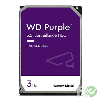 MX67302 Purple 3TB Surveillance Hard Drive, SATA III w/ 64MB Cache