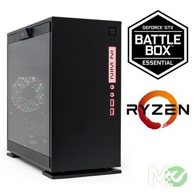 MX67306 GeForce® GTX BATTLEBOX Essential A w/ Ryzen 5 2600, 16GB, 250GB SSD + 1TB, GeForce GTX 1060, Win 10 Home