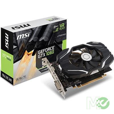 MX67338 GeForce GTX 1060 OC 6GB V1 PCI-E w/ HDMI, DisplayPort, DVI