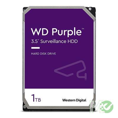 MX67342 Purple 1TB Surveillance Hard Drive, SATA III w/ 64MB Cache