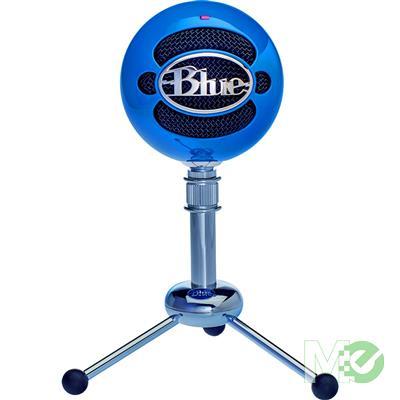 MX67420 Snowball USB Microphone, Neon Blue