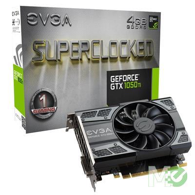 MX68090 GeForce GTX 1050 Ti SC GAMING ACX 2.0 4GB PCI-E w/ DVI, HDMI, DisplayPort