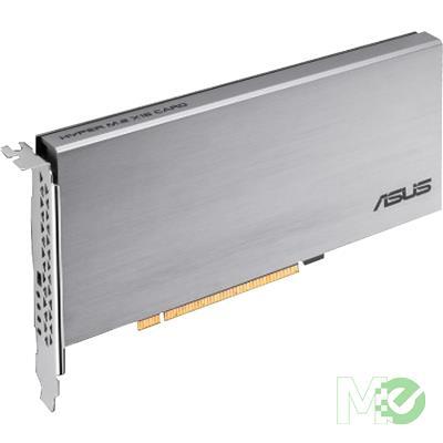 MX68386 HYPER M.2 X16 PCIe CARD w/ 4x M.2 NVMe PCIe x4 Slots