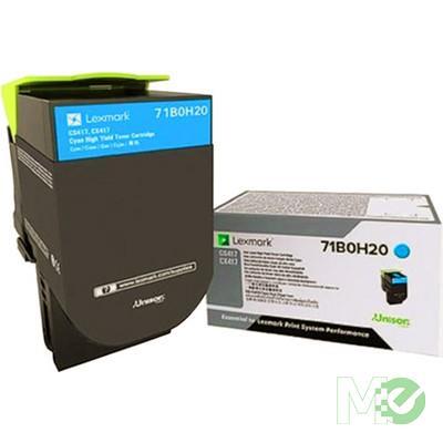 MX68439 71B0H20 Toner Cartridge, Cyan