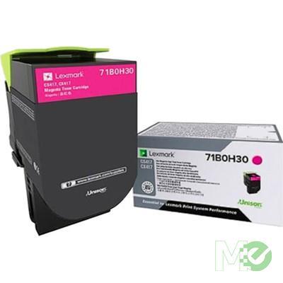MX68440 71B0H30 Toner Cartridge, Magenta