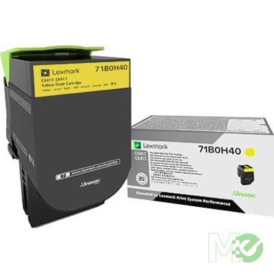 MX68441 71B0H40 Toner Cartridge, Yellow