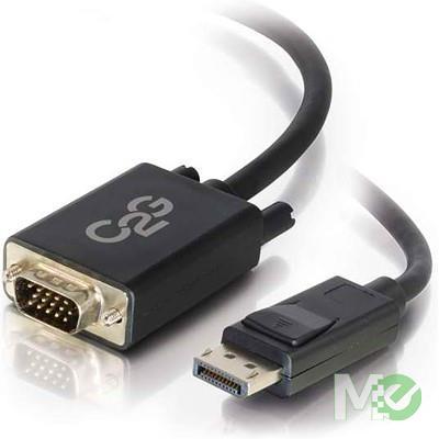 MX68714 Display Port to D-Sub VGA (15-pin) Video Cable, black, 6 Foot