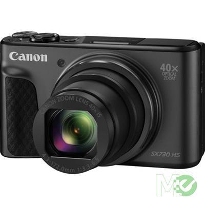 MX68760 PowerShot SX730 HS Digital Camera, Black