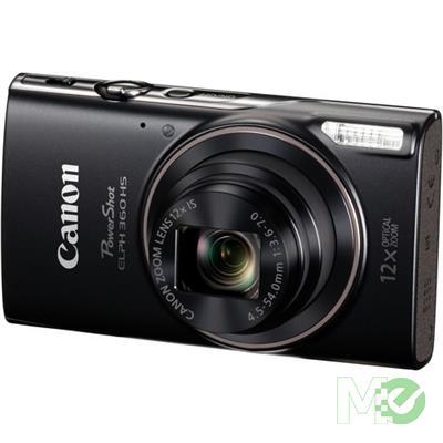MX68761 PowerShot ELPH 360 HS Digital Camera, Black