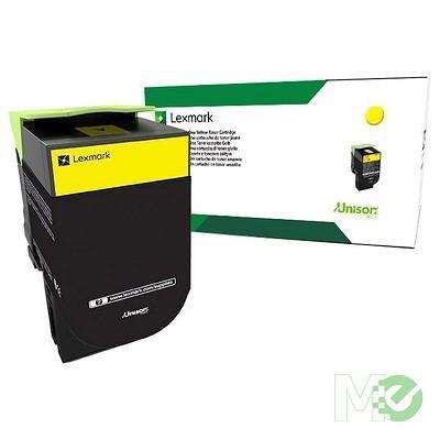 MX68770 CS/CX 317/417/517 Return Program Toner Cartridge, Yellow
