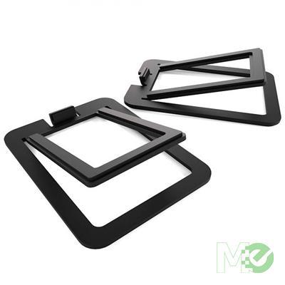 MX68776 S2 Desktop Speaker Stands, Black