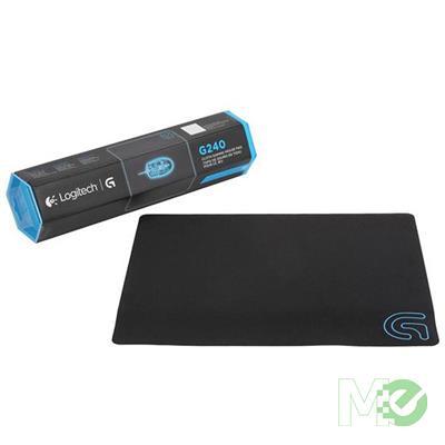 MX68790 G240 Cloth Gaming Mouse Pad, Black