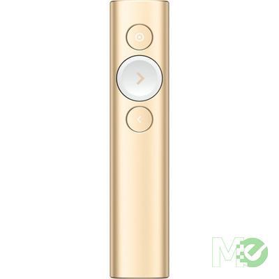 MX68792 Spotlight Presentation Remote, Gold