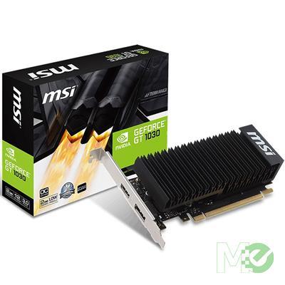 MX68812 GeForce GT 1030 2GH LP OC Low Profile 2GB PCI-E w/ HDMI, DisplayPort