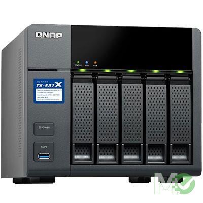 MX68905 TS-531X 5-Bay NAS w/ 2GB RAM