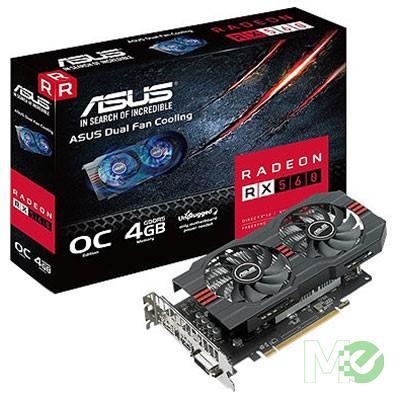 MX68990 Radeon RX 560 EVO OC Edition 4GB PCI-E w/ HDMI, DisplayPort, DVI
