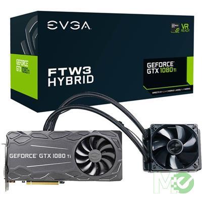 MX68999 GeForce GTX1080 Ti FTW3 HYBRID Gaming 11GB PCI-E w/ DVI, HDMI, Triple DP