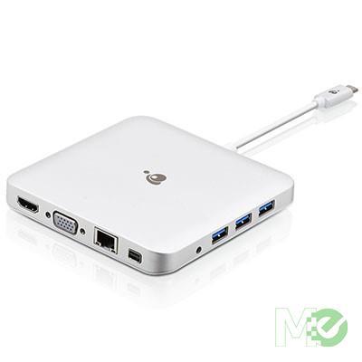 MX69165 USB-C Docking Station w/ PD Power Pass-Thru