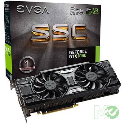 MX69284 GeForce GTX 1060 SSC GAMING ACX 3.0 6GB PCI-E w/ DVI, HDMI, Triple DP