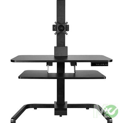 MX69338 Electric Standing Desk Conversion Riser, Black