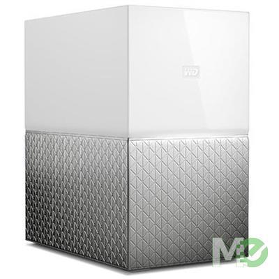 MX69853 16TB My Cloud Home Duo NAS, White