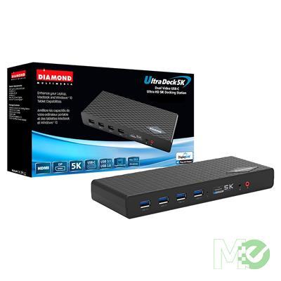 MX69885 DS6950 Multimedia Ultra Dock w/ Dual 4K, 6x USB 3.0 Type-A, Gigabit Ethernet, Dual 3.5mm Audio ports